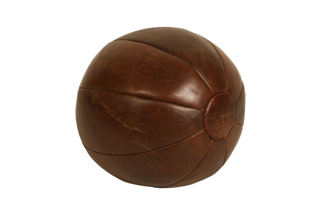 Bola de Couro Decorativa Sports