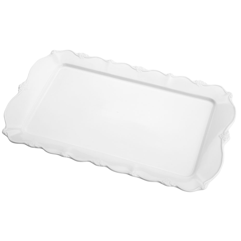 Travessa Porcelana Retangular Fancy III 36x22x3cm