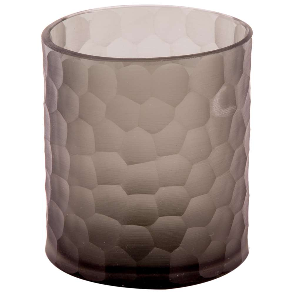 Vaso De Vidro Decorativo Charmey M - Light Grey